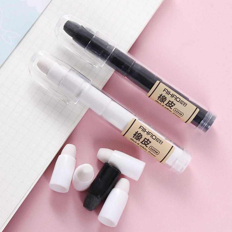 Creative Pen-type Eraser Wipe Clean Without Leaving Marks Student Stationery Detachable Convenient Art Painting Office Supply