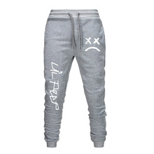 Lil Peep 19ss Mens Pantalones Jogger Sports Spring Autumn New Casual Pencil Pants Trousers