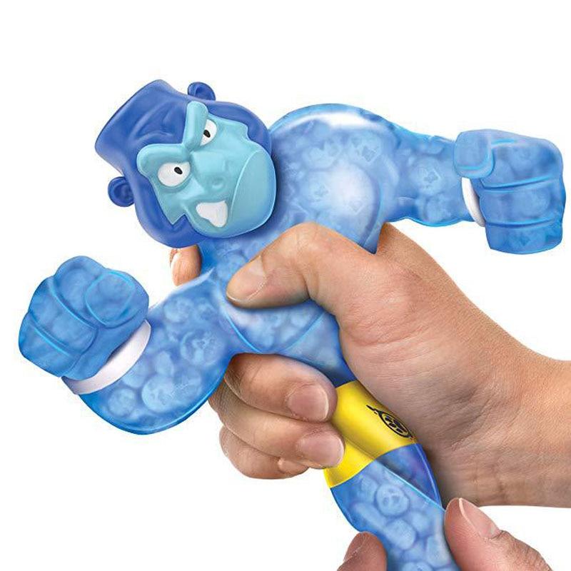 Kids Toys Antistress Children Squishys-Handle Squeeze Hero Man Joke Vent-Game Animal-Rubber img1