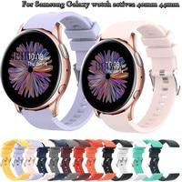Silikon 20mm Armband Strap Für Samsung Galaxy uhr Aktive 2 40mm 44mm / 3 41mm Smart armband Armband Für Huawei GT 2 42mm