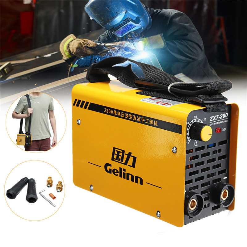 20 200Amp Portable Inverter Welder Welding Machine DC 220V For Welding Equipment Working And Electric Working