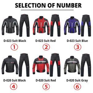 Image 2 - DUHAN Chaqueta de motocicleta resistente al frío, traje de moto para otoño e invierno, equipo de protección y ropa de paseo