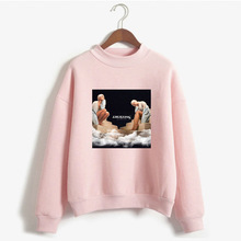 2019 WOMEN'S Dress Autumn Hoodie Ariana Grande New Series Re