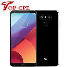 LG – téléphone portable G6 H873 G600 Quad Core, écran de 5.7 pouces, 4 go de RAM, 32 go de ROM, simple SIM, double caméra arrière de 13 mp, LTE, Original