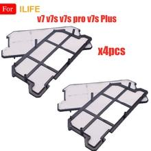 Pour ILIFE Chuwi efficace poussière HEPA filtre accessoires v7 v7s v7s Pro v7s Plus Robot aspirateur pièces