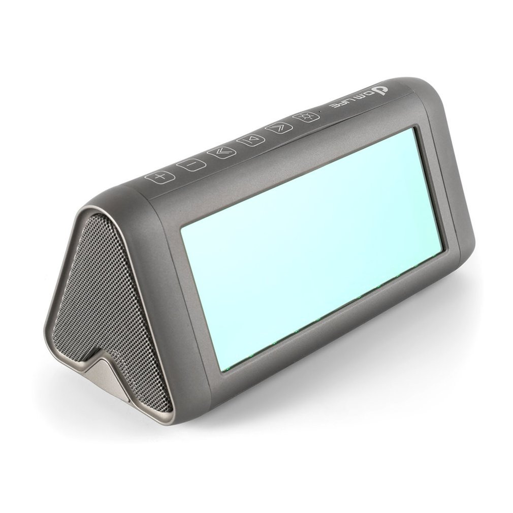 Draagbare Magische Spiegel Speaker Virtual 3D LED Licht e Stereo bluetooth Speaker Bass Vervorming Gratis - 5