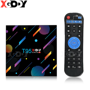 T95 XGODY H616 Smart TV Box 4G Android 10.0,32GB 64GB 128G 6K HD Media Player TV 2.4G&5G Set Top Box