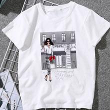 T-shirt dziecięcy uroda szampan modny nadruk T-shirt Harajuku T-shirt graficzny casual odzież dziecięca bawełniany T-shirt tanie tanio COTTON Na co dzień Cartoon Krótki O-neck Topy Tees Pasuje prawda na wymiar weź swój normalny rozmiar Unisex