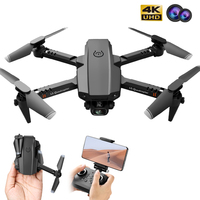 PEGI-Dron XT6 con cámara HD 4K DUAL, Mini Drones plegables, Wifi, FPV, Avión de juguete profesional para niños