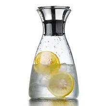 1000ml carafe stainless steel clamshell, perfect heat-resistant iced coffee or teapot, pouring water, decanter and serving wine(China)