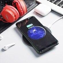 10W Fast Best Wireless Charger For Samsung Galaxy S10 S9 S8 S7 6 Plus 5G iPhone X XS XR 8 8PLUS Ladowarka Bezprzewodowa XIAOMI 9