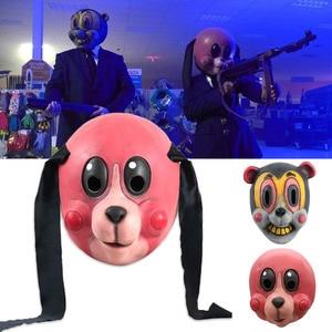 Image 2 - Umbrella Academy Cosplay Mask Hazel Cha Cha Latex Headwear Funny Novelty Animal Cosplay Props 2020 New TV Carnival Party Props