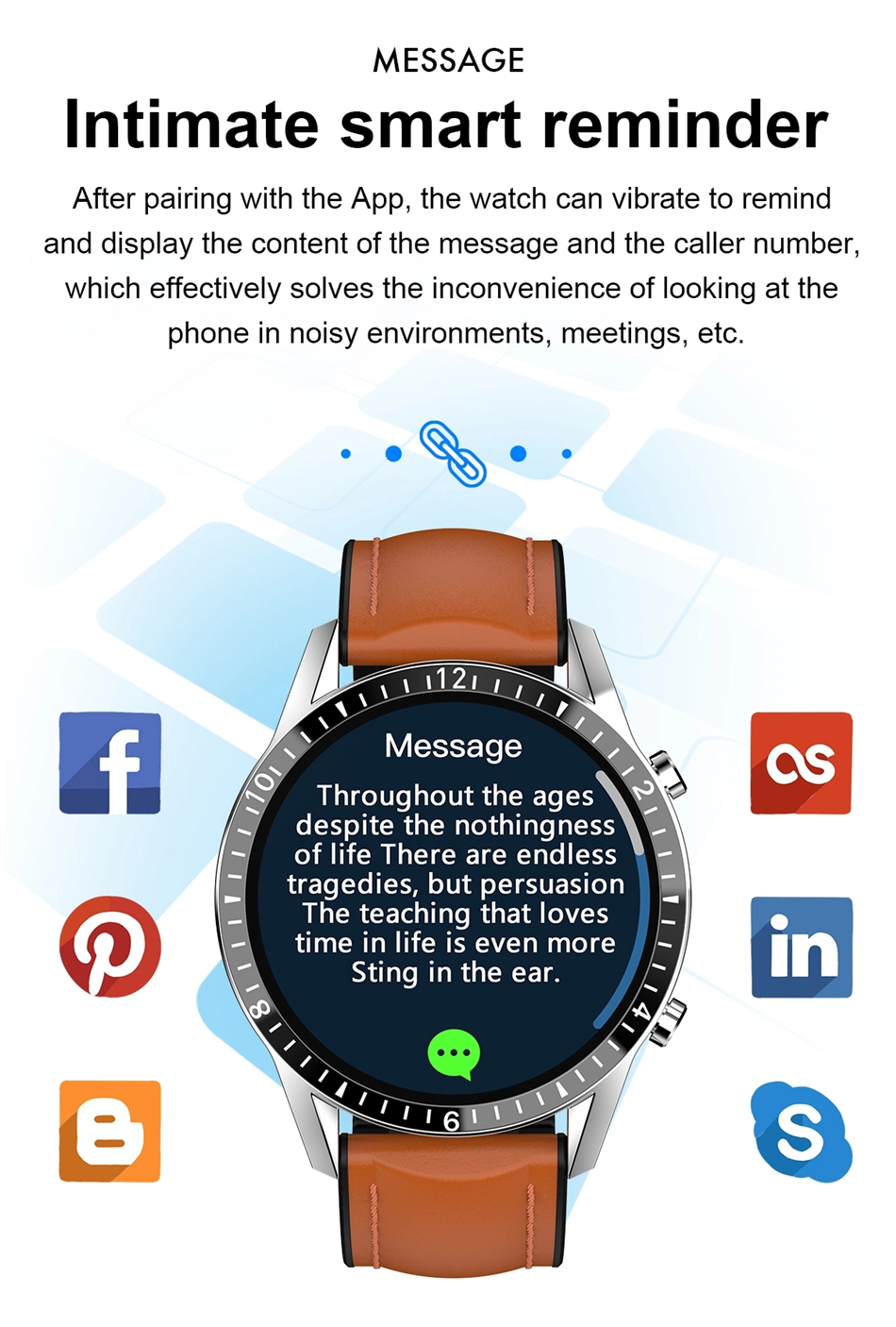 H26956804558845a9921e81e79155caffN 2021 Smart Watch Phone Full Touch Screen Sport Fitness Watch IP68 Waterproof Bluetooth Connection For Android ios smartwatch Men