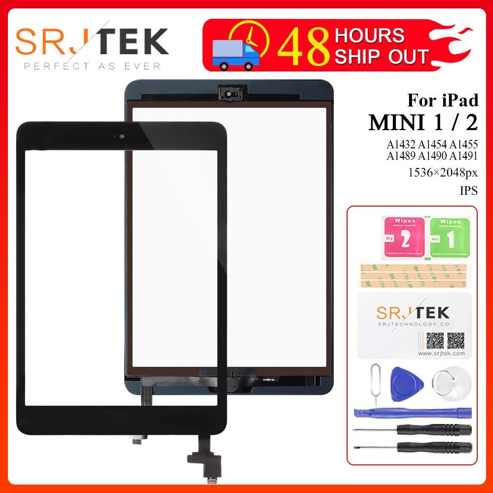For IPad Mini Touch Screen For IPad Mini 2 1 Screen Digitizer For IPad Mini1 A1432 A1454 A1455 Mini2 A1489 A1490 A1491 Glass