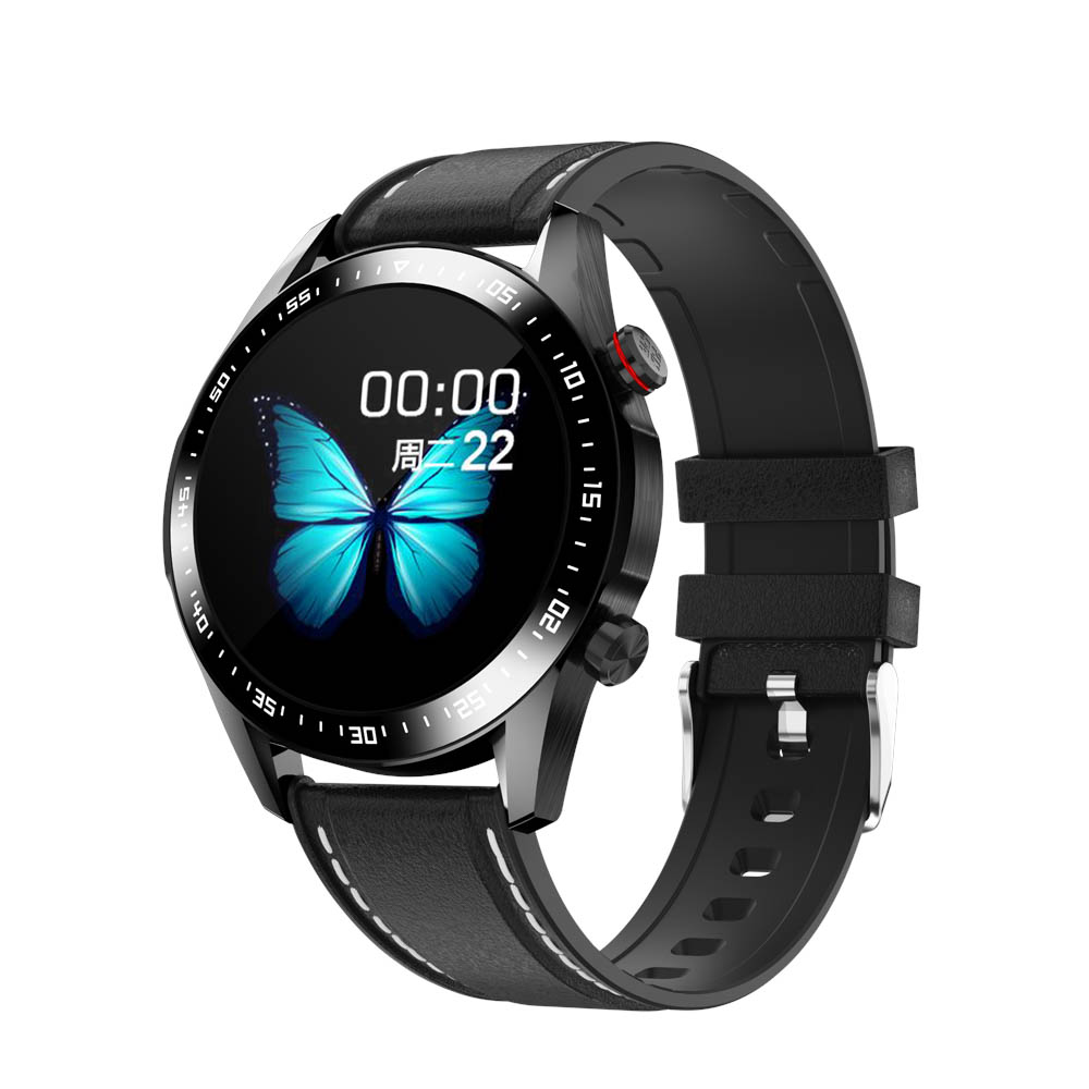 H2695bea7406a4869b2d96ccb704628c80 E1-2 Smart Watch Men Bluetooth Call Custom Dial Full Touch Screen Waterproof Smartwatch For Android IOS Sports Fitness Tracker