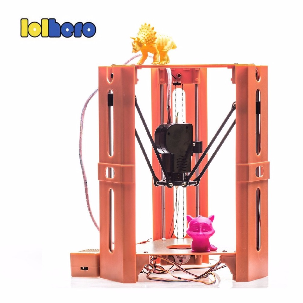 101HERO Protable 3D Printer Mini 1.75mm 0.4mm Nozzle Filament Metal Desk 3D Printer DIY Kit DV Versions Drop Shipping  (22)