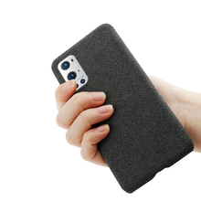 ل OnePlus 9 برو 9E 8T نورد N10 5 جرام N100 فوندا قماش فاخر الملمس المجهزة جراب هاتف ل One Plus 8 7 7T برو 1 + 9E غطاء Coque