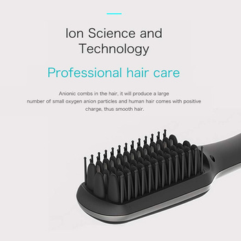 LED Display Ionic Beard Straightener for Men Hair Straightening Comb Adjustable Ceramics Heating Temperature HJL2019 2