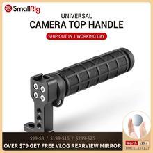 SmallRig Gummi Top Griff Grip mit Top Kalten Schuh Basis für DSLR Kamera Käfig Video Camcorder Aktion Stabilisierung Universal 1446