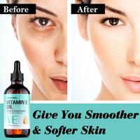 LAGUNAMOON Organic Pure Natural Vitamin E Oil Face Body Skin Moisturize Reduce Wrinkles Reduce the Look of Scars 120ML 3