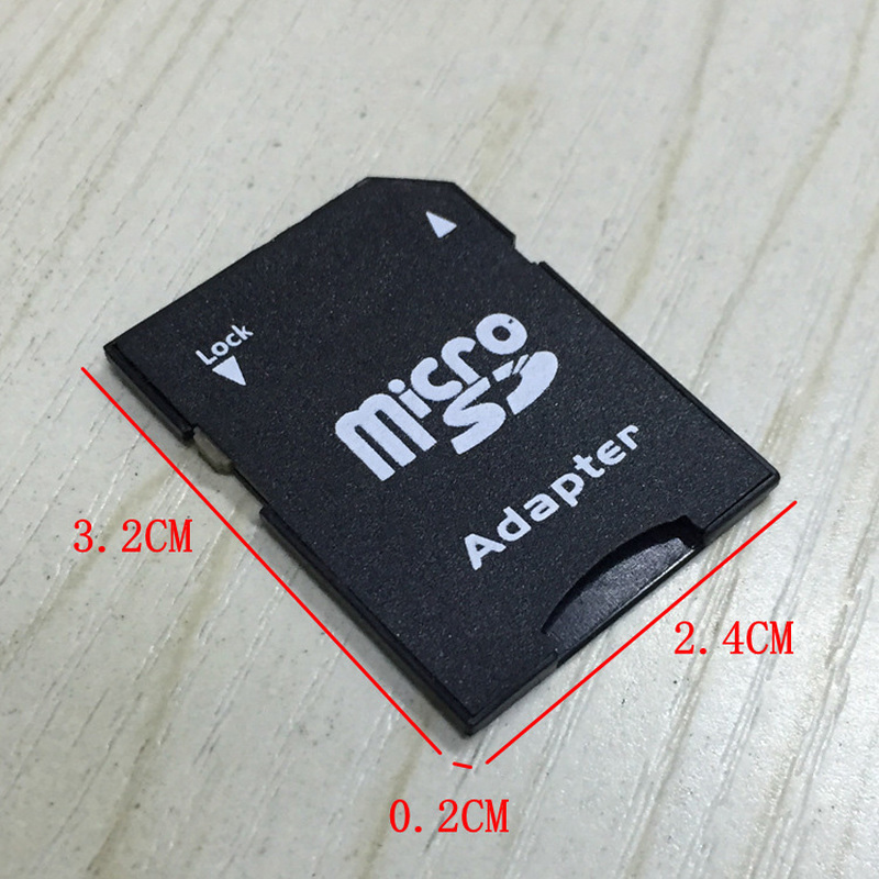 Купить с кэшбэком Popular Micro SD TransFlash TF To SD SDHC Memory Card Adapter Convert Into SD Card Memory Card Adapters