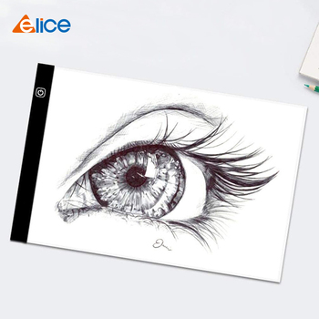 Elice A4 LED Drawing Tablet Digital Graphics Pad USB Light Box Copy Board Electronic Art Graphic Painting Table