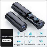 TWS F9-6 Mini Bluetooth-kompatibel Kopfhörer Wasserdichte Touch Control Sport Earbuds Für Huawei Iphone Xiaomi Drahtlose Kopfhörer