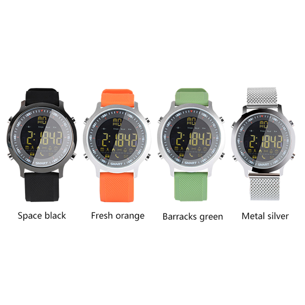 IP67 Waterproof For <font><b>EX18</b></font> <font><b>Smart</b></font> <font><b>Watch</b></font> Support Call And Sports Activities Smartwatch One-Click Operation Extra Long Standby Time image
