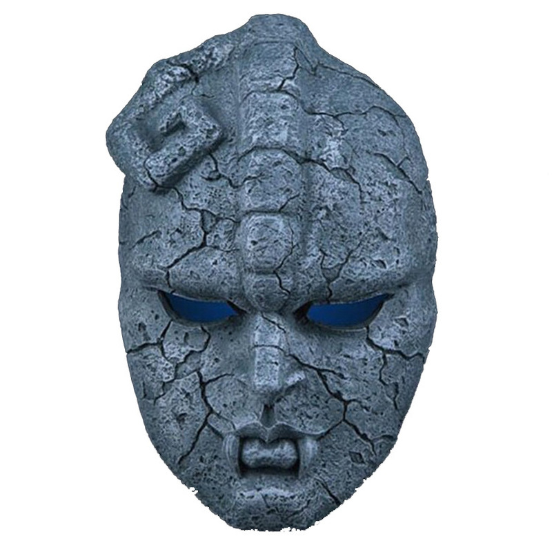 JOJO Bizarre Stone Ghost Juvenile Comics Resin Cosplay Mask Wonderful Adventure Gargoyle Theme Halloween Masquerade Props