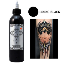 цены 250ml/Bottle Black Tattoo Ink Set Permanent Makeup Tattoo Pigments For Body Color Paint Tattoo Supplies