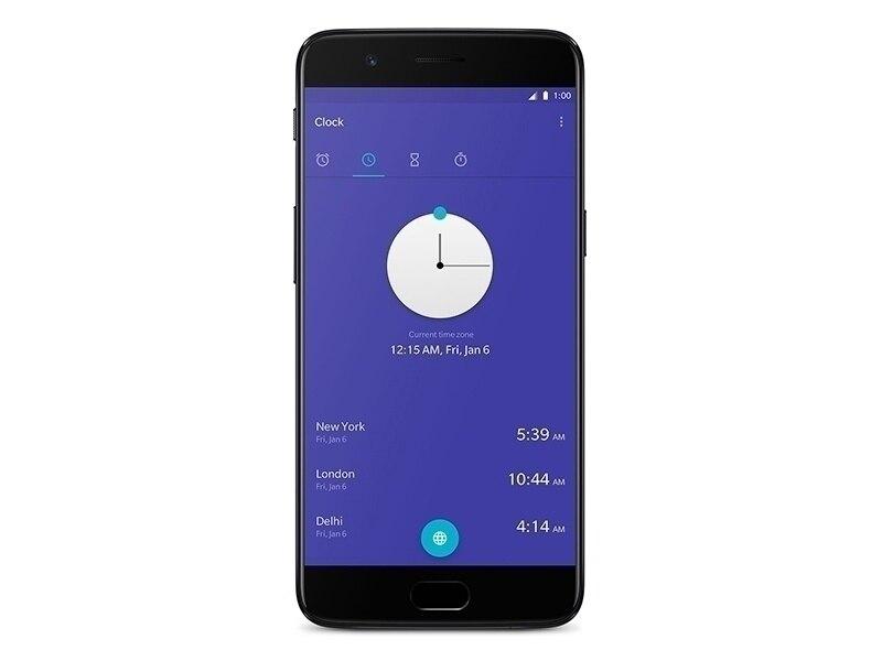 Original novo oneplus 5 telefone móvel lte 4g 8 gb ram 128 gb rom snapdragon 835 octa núcleo 5.5 polegada 20mp 16mp telefone nfc
