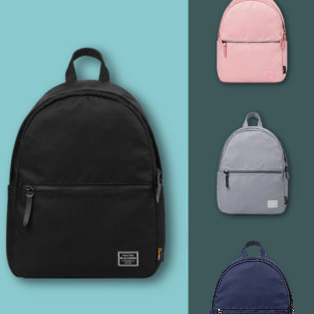 Black Laptop Small Travelbackpack Women College Bags For Boy Colourful School Backpack Waterproof Fabric Bagpack Girl