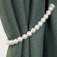 Clips-Hook-Holder Rope-Accessory Curtain Buckle Holdbacks Home-Decoration Pearl New Tie