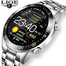 Часы наручные мужские электронные со светодиодной подсветкой