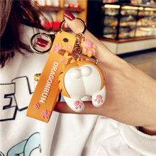 Creative Cartoon Silicone Keychains…