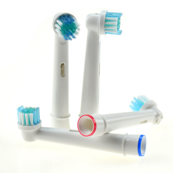 SB17A Replacement Toothbrush Heads For Braun Oral B Electric Toothbrush OralB Professional Oral Care Brush Heads 4Pcs/lot ирригатор braun professional care oxyjet md20 белый 81317988
