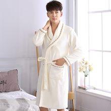 De noite de lde l de coral de inverno sleepwear ocasional de flanela kimono vestido solto roupas mais tamanho de casa
