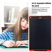 12 LCD Writing Tablet Digital Drawing Tablet Handwriting Pads Portable Electronic Tablet Board ultra-thin Board with pen dropshi