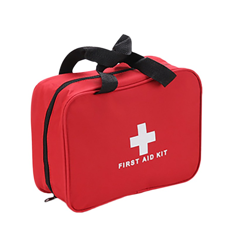 Portable First Aid Bag Small Outdoor Travel Rescue Bag First Medicine Storage Pouch Red Waterproof Bag High-quality