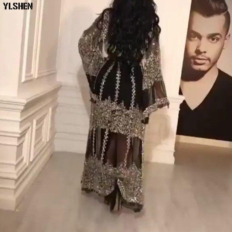 Black African Dresses for Women 2 Piece Set Dashiki African Dress Africa Clothes Girls Abaya Dubai Muslim Dress islam Clothing 03
