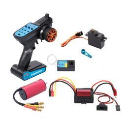 Bürstenlosen Upgrade Kit Motor Esc Empfänger Fernbedienung Servo Set Für Wltoys 144001 A959-b A979-b spielzeug RC Autos Ersatzteile