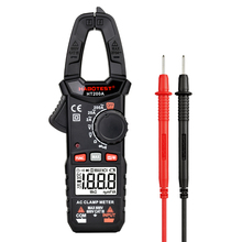 Easy-operating Digital Clamp Meter HABOTEST HT200A Voltage Tester 600V 200A DC AC Ohm Auto Range Clamp Multimeter Backlight