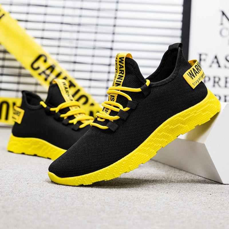 Oddychające markowe buty do biegania męskie buty do biegania sportowe trampki obuwie Air Men buty sportowe biegacze Summer Fitness Black Giay B-352