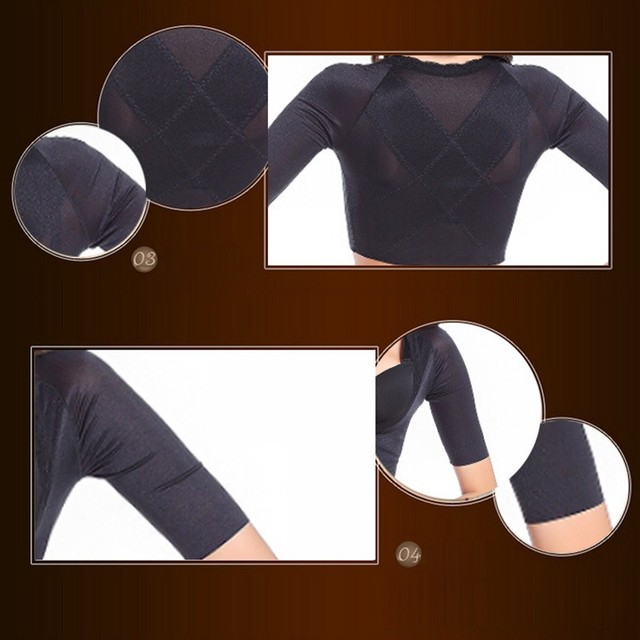 Invisible Arm Slimming Shaper Slimmer Chest Corrective Lifting Underwear plus size Shapewear Weight Loss Tops 5