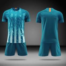 цена на 18/19 juego de camiseta de fútbol para adultos camiseta de fútbol uniforme traje de entrenamiento para correr ropa deportiva