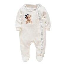 Honeyzone/Детские комбинезоны для девочек; дизайн; одежда для новорожденных из хлопка и полиэстера