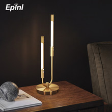 2021 epinl candeeiro de mesa moderna lâmpada assoalho cobre luxo sala estar quarto estudo cabeceira decoração para casa luz da mesa