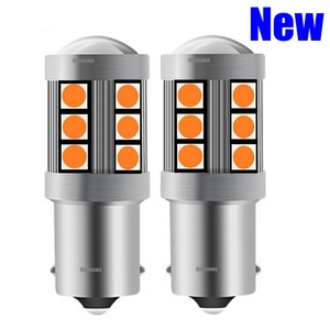 2pcs NEW 1156 P21W 7506 BA15S R5W R10W 3030 LED Auto Brake Light Car DRL Driving Lamp Reverse Bulbs Turn Signals Amber Red White(China)