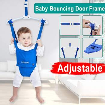 Baby Jumper Exerciser With Door Clamp Baby Exerciser For Active Baby Kids Jump And Have Fun Toy Swing Hammock Seat