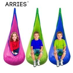 Arries Anak Kreatif Hammock Taman Furniture Pod Ayunan Kursi Indoor Outdoor Gantung Kursi Anak Cocoon Ayunan Kursi Teras Portable